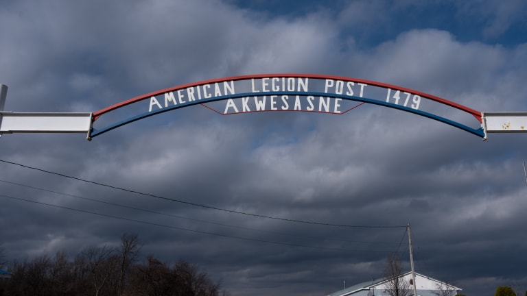 """""""Hole in the Wall"""": Inside the American Legion on the border"""