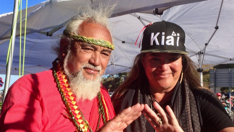Mauna Kea is only latest thing they want to take, 'we will not give it to them'