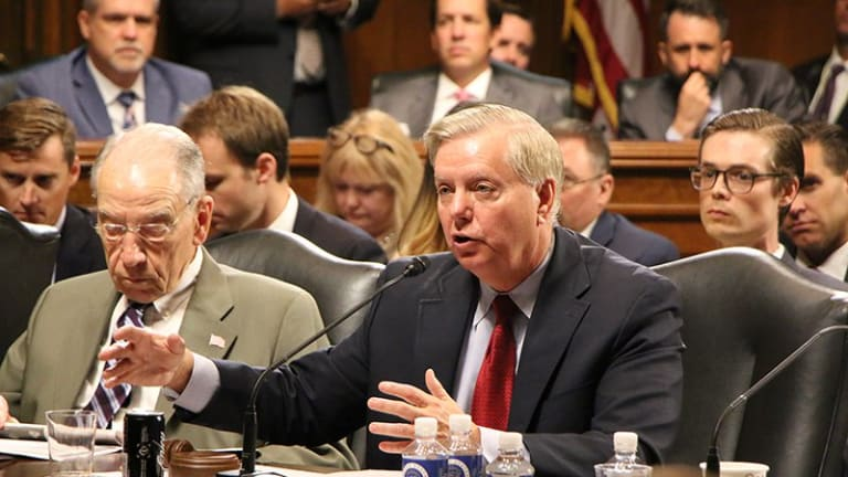 Senate GOP pushes immigration bill out of committee