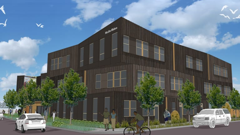 A historic affordable housing project for urban Natives is underway in Portland