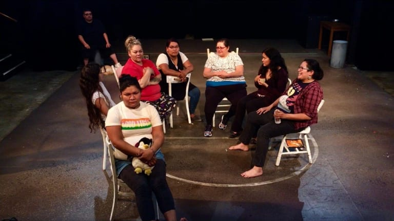 The 'Hamlet' of Native theater