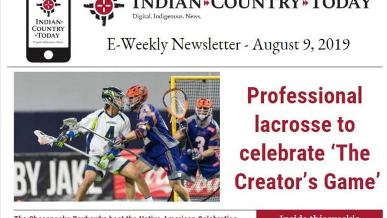 Indian Country Today E-Weekly Newsletter for August 9, 2019