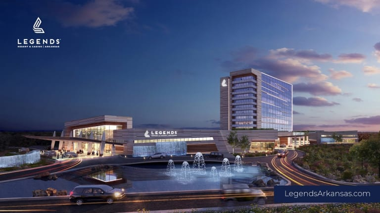 Cherokee Nation Businesses and Legends unveil plans for proposed resort and casino in Pope County, Arkansas