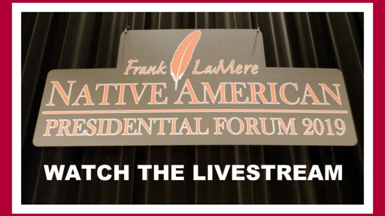 #NativeVote20: Watch the Frank LaMere Native American Presidential Forum Livestream here