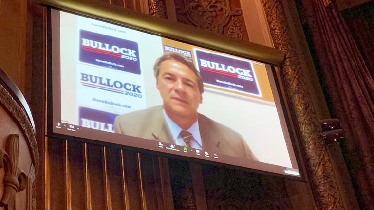 Steve Bullock cites previous experience working with Indian Country