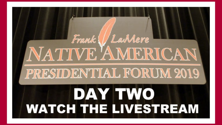 Day 2: Watch the Frank LaMere Native American Presidential Forum Livestream here