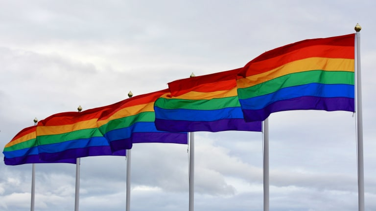What states that don't protect LGBTQ workers from discrimination have in common