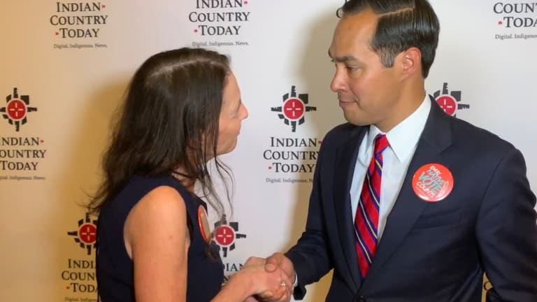 Julián Castro has specific plans for Indian Country & a 'gracias' for warm welcome