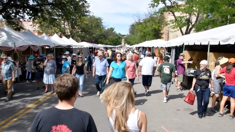 Santa Fe's free Indian market is just that, free