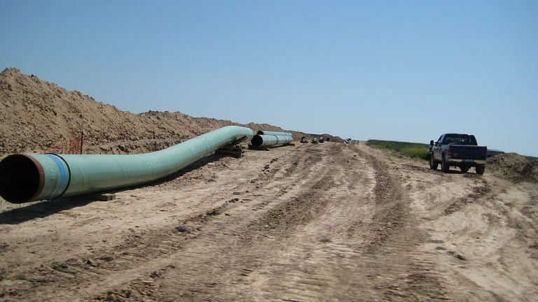New map shows Keystone XL Pipeline route