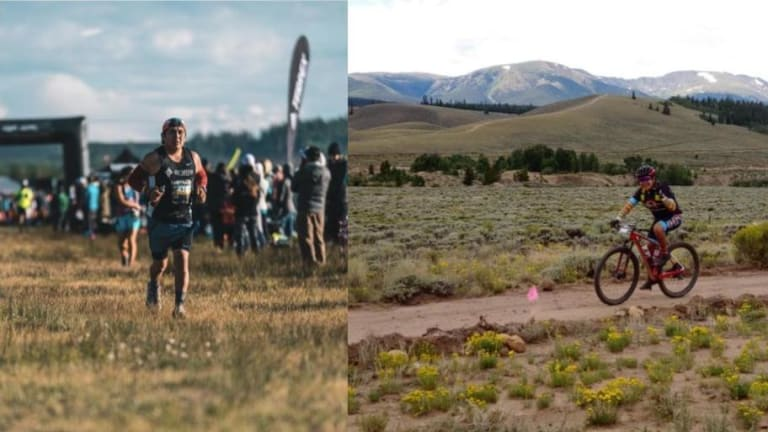 Completing a 100-mile race with the help of Chinese food and community
