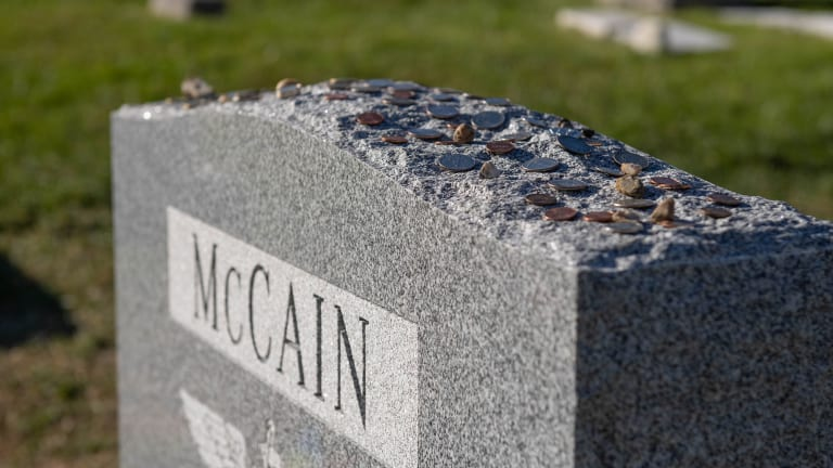 John McCain still honored after one year