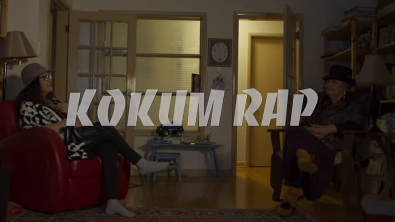 Grandmothers bring their Indigenous vibe to Cree music video 'Kokum Rap'
