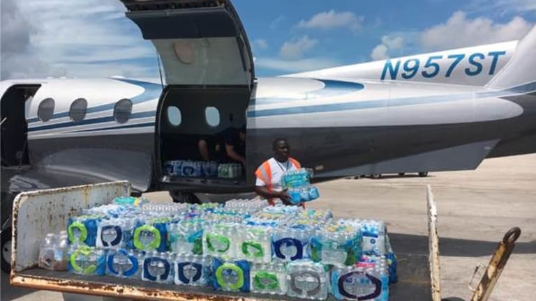 Seminole Tribe continues airlift of drinking water for fifth straight day