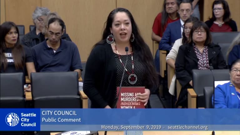 Seattle leaders approve resolution for missing and murdered Indigenous women and girls