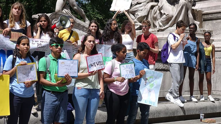 Youth climate movement puts ethics at the center of the global debate