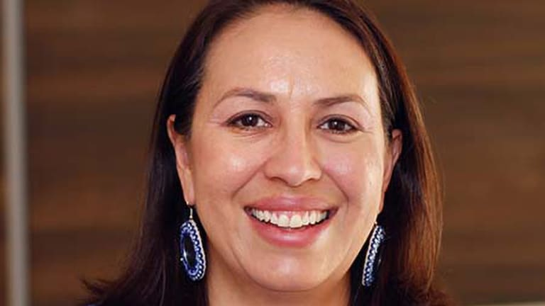 American Indian College Fund promotes Emily White Hat to Vice President, Programs