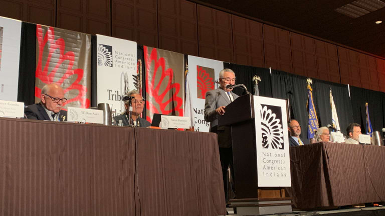Candidates announce bid for the National Congress of American Indians