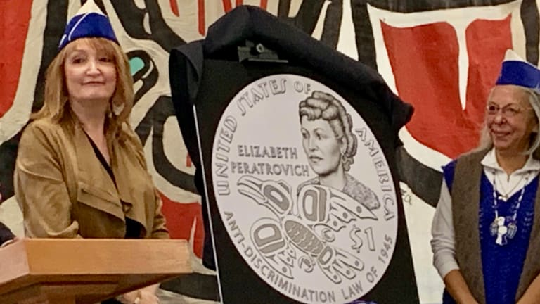 New $1 coin to honor Tlingit civil rights leader Elizabeth Peratrovich