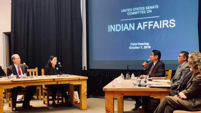 Navajo Nation President Nez testifies before Indian Affairs Committee in support of radiation exposure victims