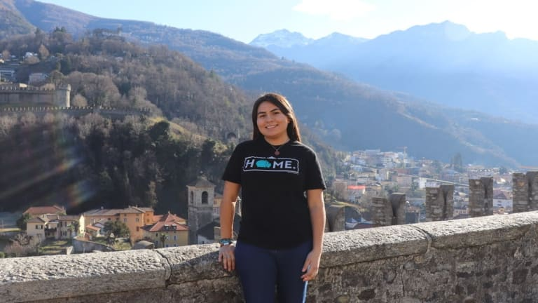 Nizhoni Tallas is first Virginia Tech student to receive Udall Scholarship in tribal policy
