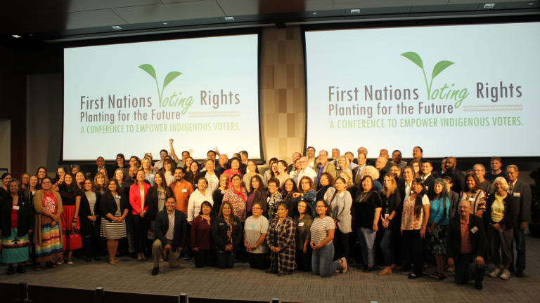 Empowering tribal nations at the voting rights conference