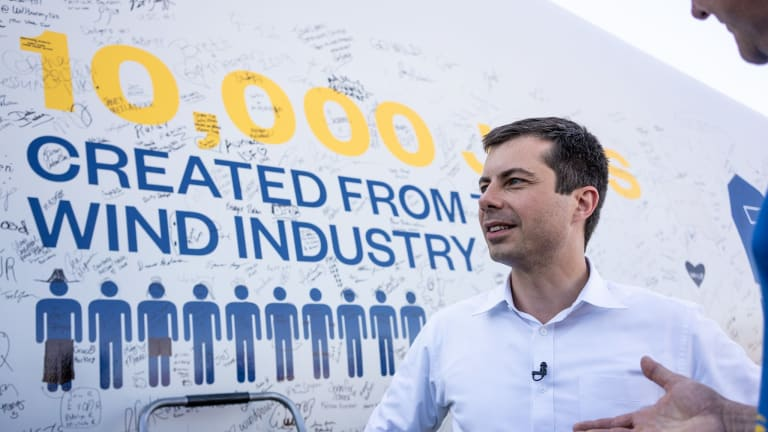 Pete Buttigieg wants to 'enhance opportunities for Native people to thrive'