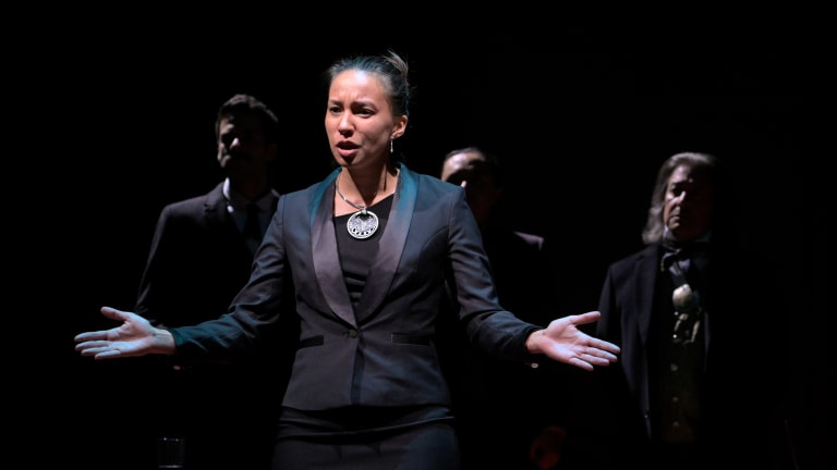 Criticisms about a Cherokee woman's choices in the play 'Sovereignty' are very problematic from a Native and women's rights standpoint