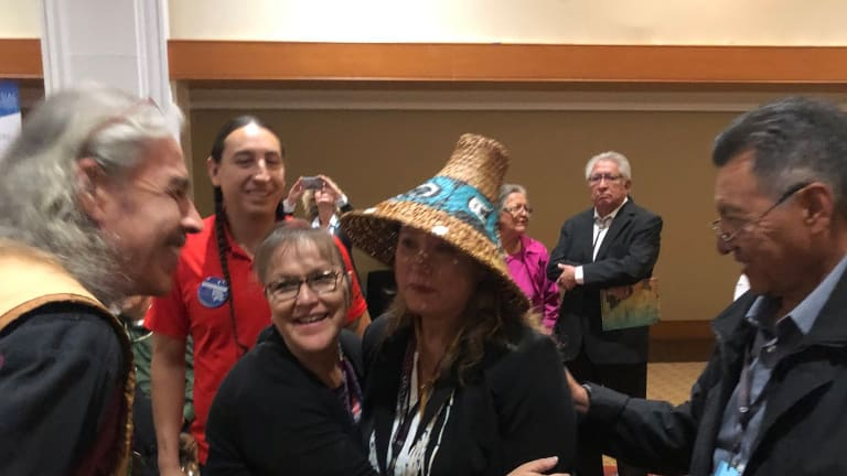 Breaking: Fawn Sharp elected president of National Congress of American Indians