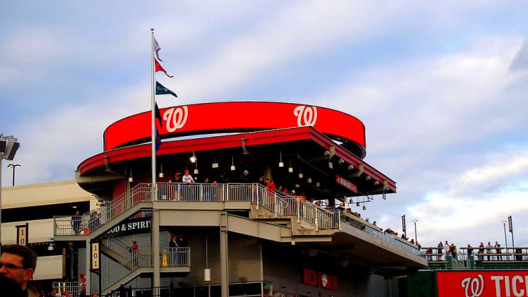 Baseball game suspended after shooting outside DC stadium