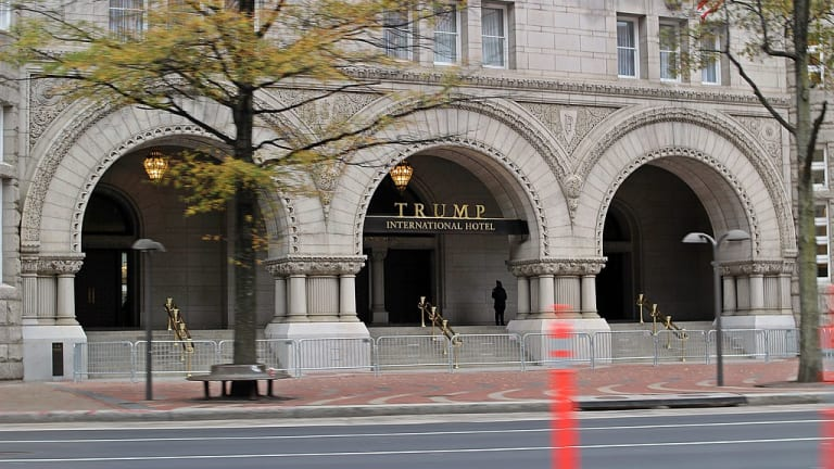 For sale? Trump hotel in DC