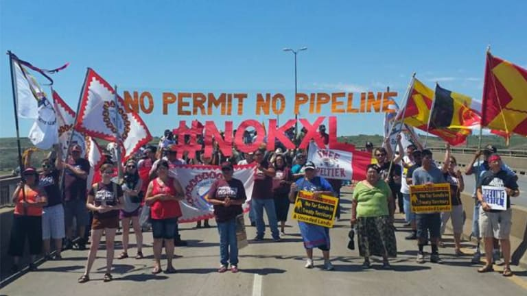 Indigenous Women leaders warn global financial companies to stop support for tar sands oil