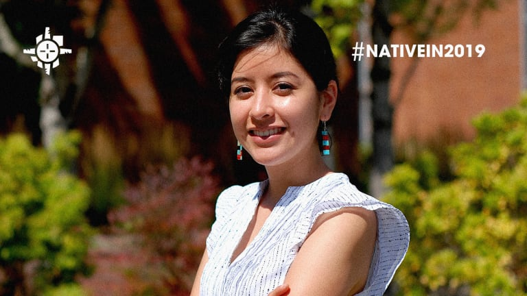 Georgia Sandoval: This Native engineer is 1 in 13,000