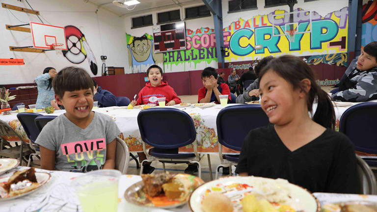 """Cheyenne River Youth Project welcomes 150 people to annual """"Thanks for Kids"""" celebration"""