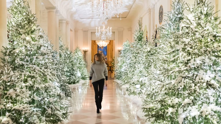 'Spirit of America' is the theme of Christmas at the White House