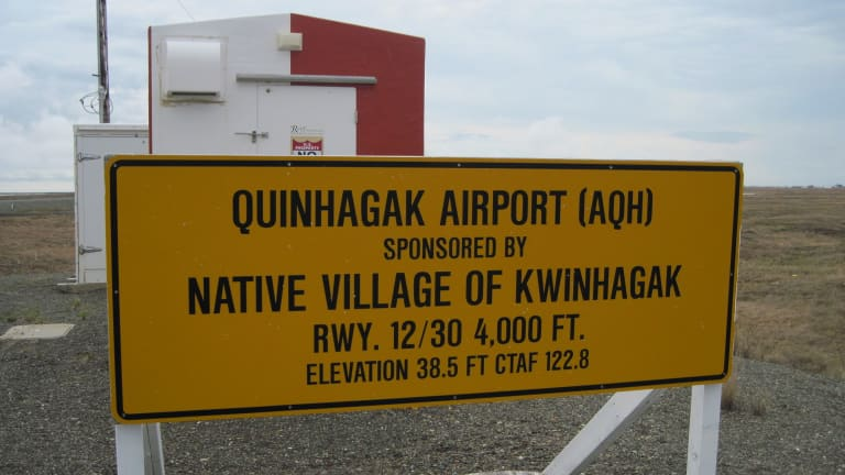 Lights out: Quinhagak air service is limited
