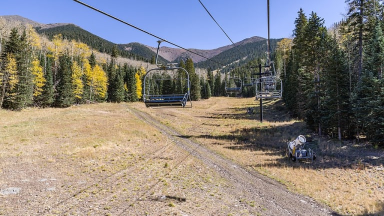 Navajo elders object to Snowbowl chairlift on sacred mountain
