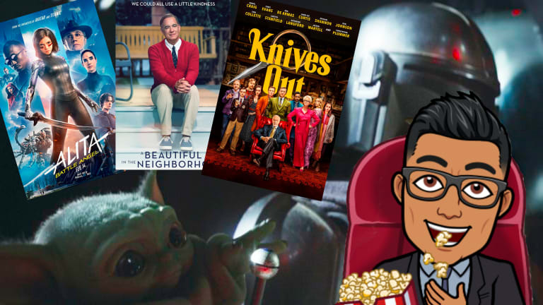 #NativeNerd reviews: Mr. Rogers, Knives Out, Alita: Battle Angel and Baby Yoda