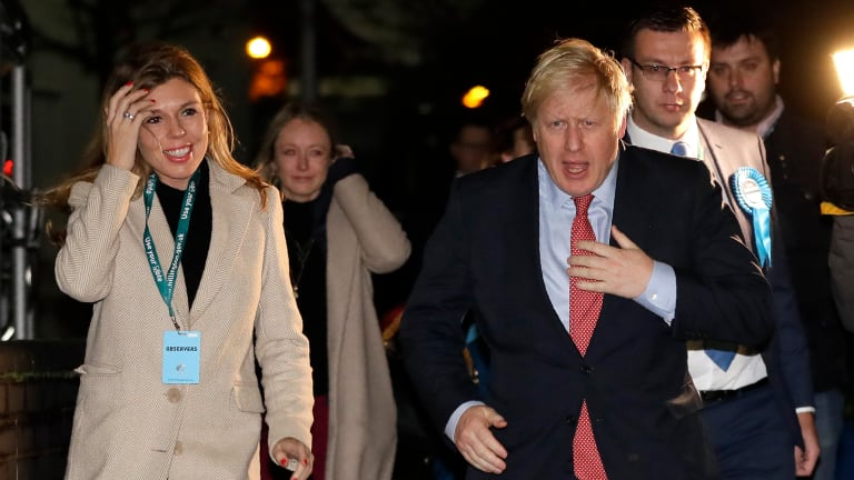 British election: 'We did it. We broke the gridlock, we ended the deadlock.'
