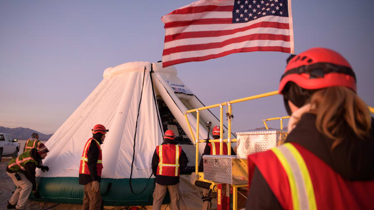Back to earth: Boeing capsule safely returns after aborted flight