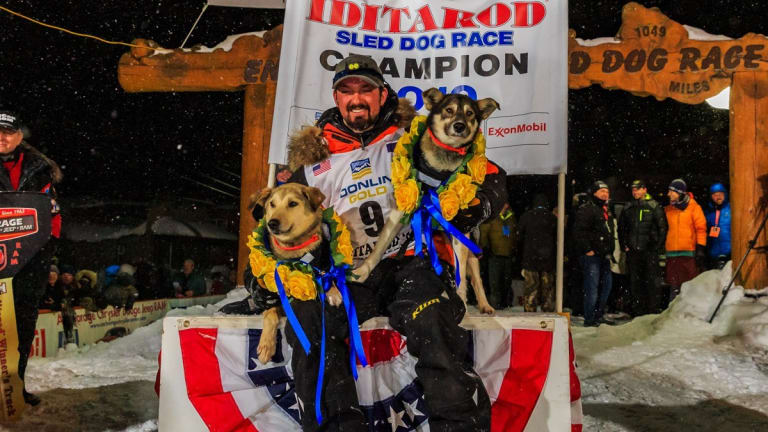 Pete Kaiser 'loves his dogs all the way to the finish line'
