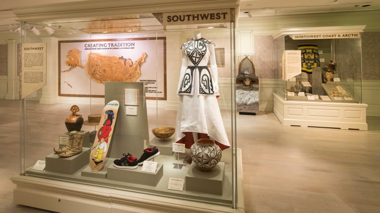 Despite the emergence of Native Fashion, successful indigenous designers remain trapped in display cases
