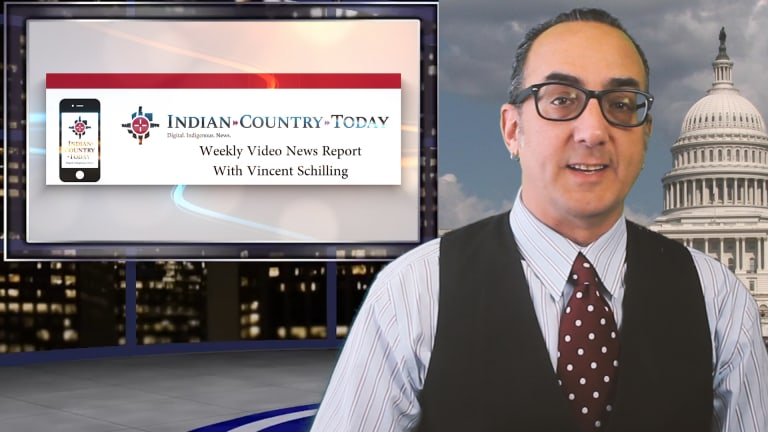 Indian Country Today video news report for Feb 18, 2019, with Vincent Schilling