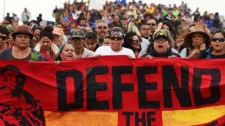 Standing with Standing Rock: allyship and the environment