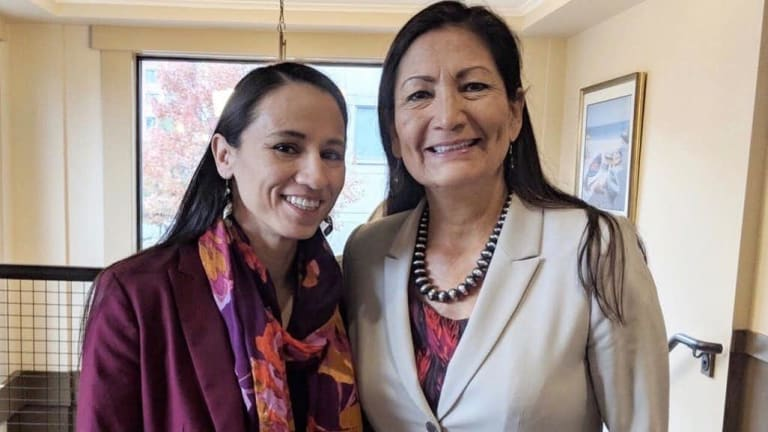 Haaland, Davids introduce historic resolution recognizing Native American women for Women's History Month