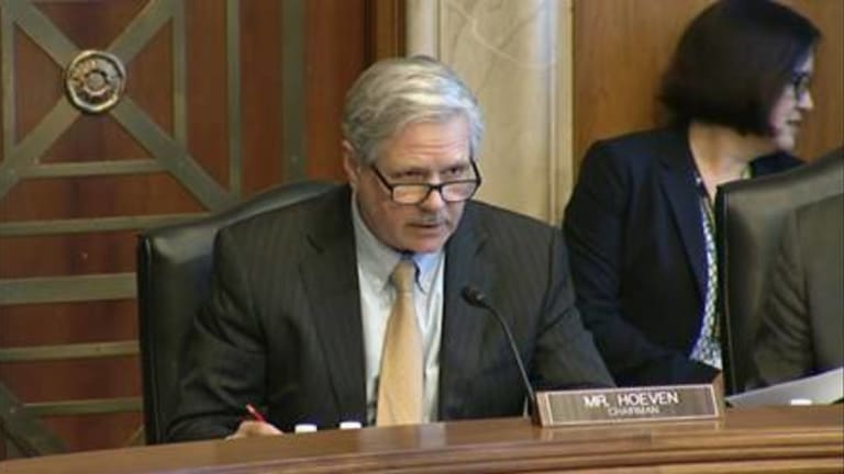 Hoeven convenes hearing on high risk Indian programs