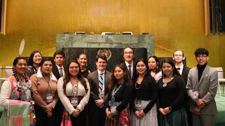 Model United Nations: Indigenous brings first-ever Native American delegation to 45th AnnualNational High School Model United Nations Conference in NYC