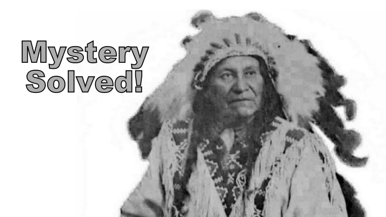 Mystery Solved! Name found of Native man in headdress that was sought by German museum