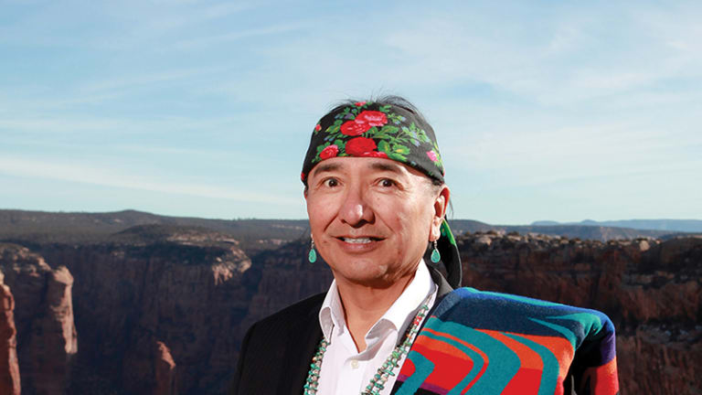 Navajo Nation Leader writes collection of poetry in Navajo and English