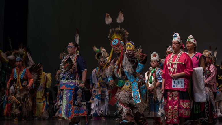 2019 University of Kansas Powwow and Indigenous Cultures Festival features Indigenous artists' work